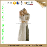 fake willow tree figurines statue sculpture together promise wedding gift for sale