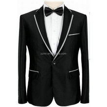 High Quality Pant Coat Design men's wedding suits in polyester/viscose Material
