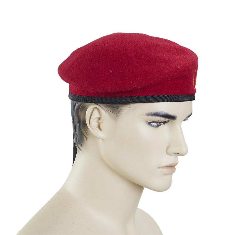 High quality 100% royal wool european mens male army beret
