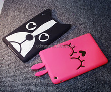 Fashion Anti-Shock Promotional silicone rubber tablet case for ipad mini 2/3/4