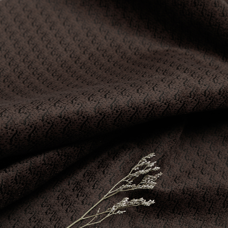 Custom Pattern Upholstery Fabric Microfiber Polyester Knitted Jacquard Fabric Price Per Meter