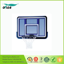 Deluxe blue wall mounting acrylic basketball backboard with PE frame