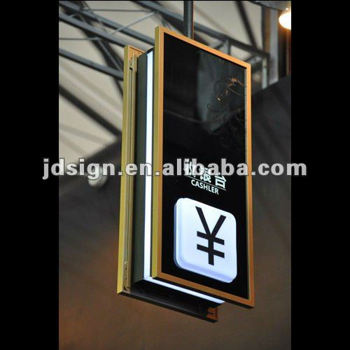 LED digital information signage system
