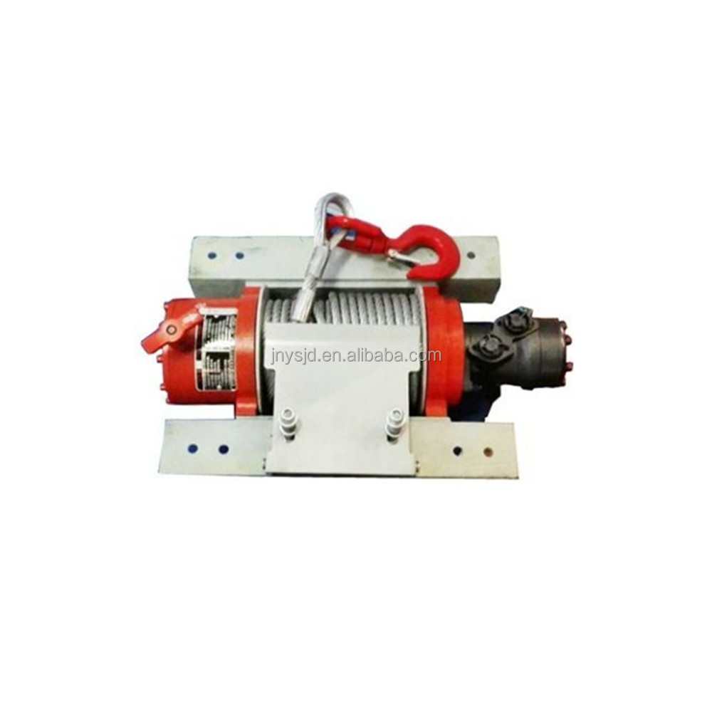 hydraulic winch for 4x4 vehicle recovery