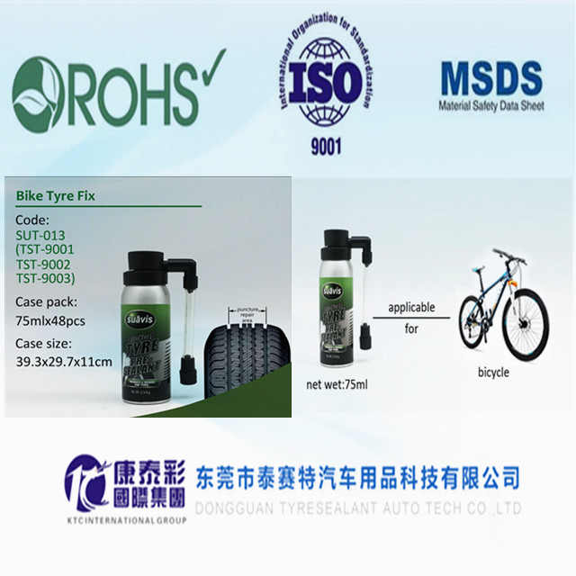 liquid tyre sealant with air compressor