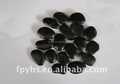 Hot sale of black normal polished pebble stone