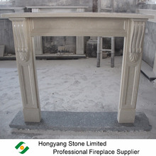 Marble Japanese Style Fireplace