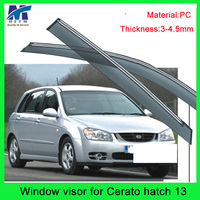 12 months warranty window visor cool exterior car accessories for Cetato 2013 hatch