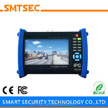 SMTSEC IPC-6800SACT Network SDI AHD CVI TVI Camera Tester Wire Tracker 7 inch screen IPC CCTV Tester