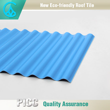 Best Quality Red Color Warehouse PVC Corrugated Sheet Roofing
