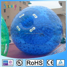2017 Super quality inflatable colorful grass zorb ball, inflatable zorb ball