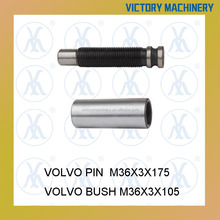 Rear spring lock pin with bush for Volvo