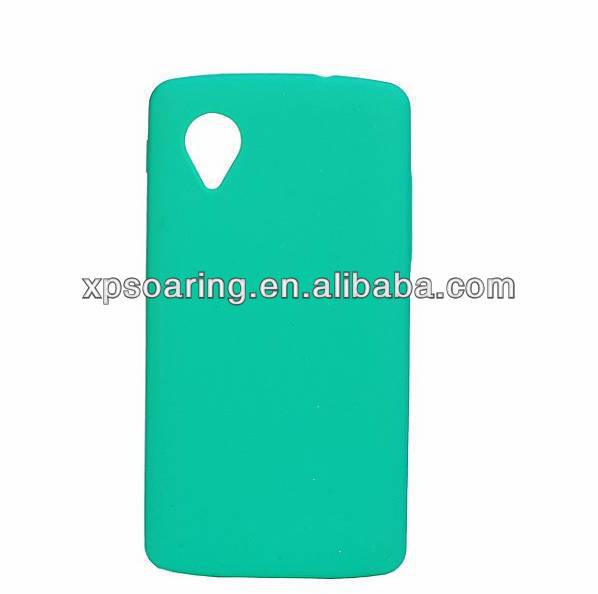 Smooth Silicone case for LG Nexus 5 E980 cover