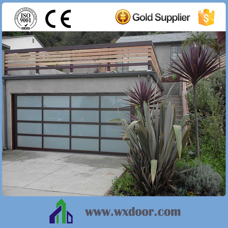 Modern 16x7 automatic glass garage door prices buy glass for 16x7 garage door prices