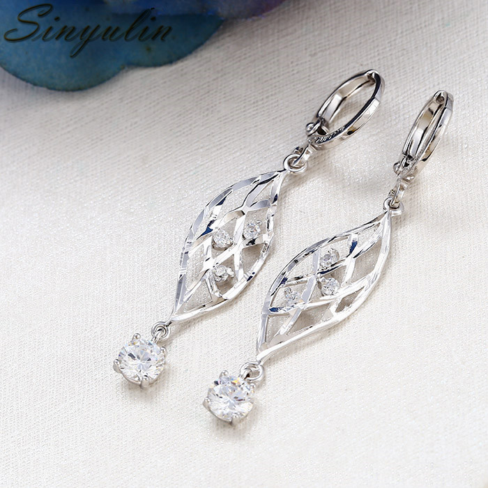 Best Selling Products Fashion Silver Women Wedding Jewelry Pearl Earring Unique Design 28217