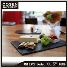 Personalised family decorative slate chopping board