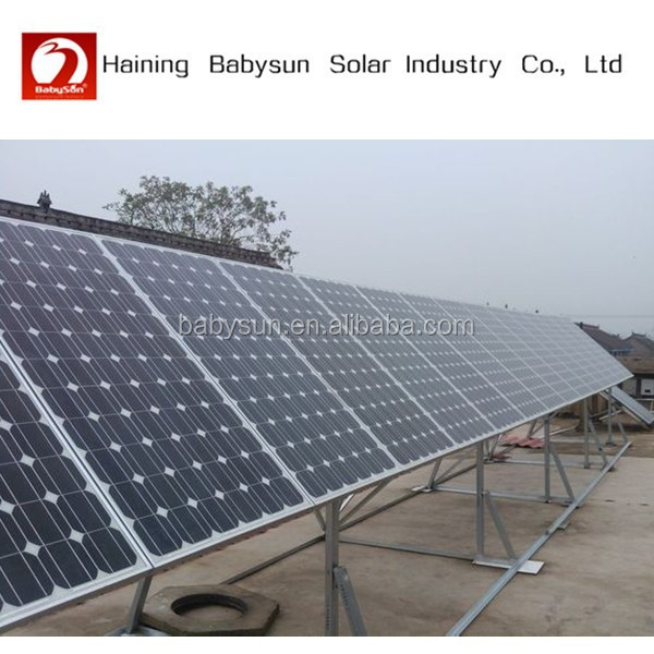 2015 China supplier 310W mono pv solar panel, solar energy system