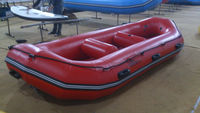 2015 Made-in-China High Quality Cheap 12.5ft PVC Inflatable Rubber Raft Boats