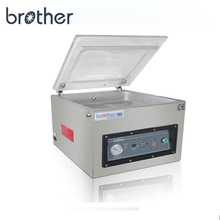 Gas Single Chamber Home Frozen Fish Vacuum Food Packaging Bags Small Vacuum Saver Food Sealing Packer Machine