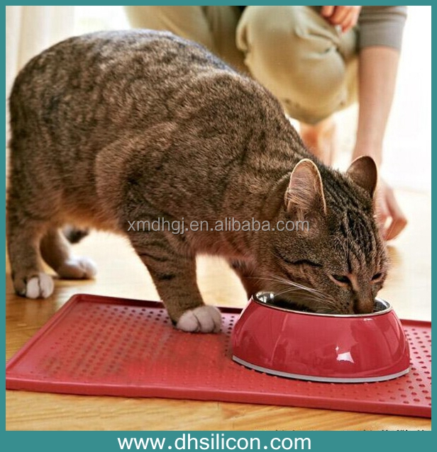 Premium FDA Food Grade Silicone Pet Feeding Mat