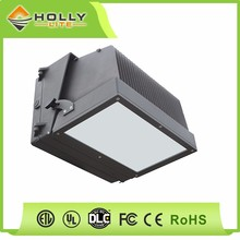 Widely Application PC and Aluminum Lampshade Square Led Wallpack IP65 Outdoor LED Wall Light
