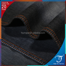 Professional factory supplying stone washed 32s pure cotton denim fabric