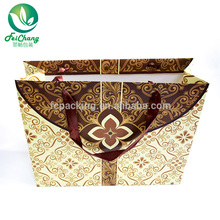 china manufacturer custom logo printing paper bag with handle