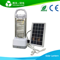 Solar panel and battery powered LED camping light SOS emergency light rechargeable battery