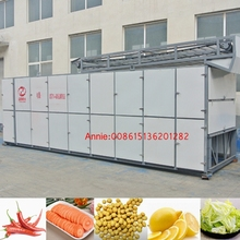 large capacity fruit and vegetable drying machine
