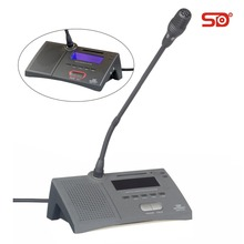 Video conference system wired microphone with voting SM222 SINGDEN