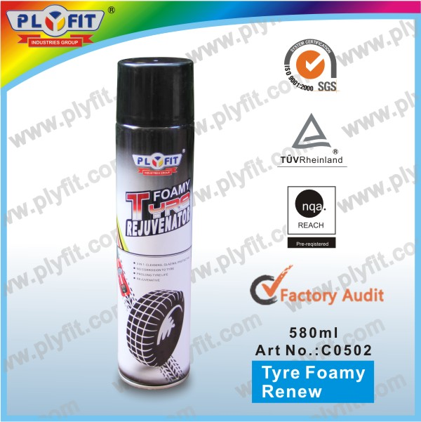 magic car care car tyre cleaner