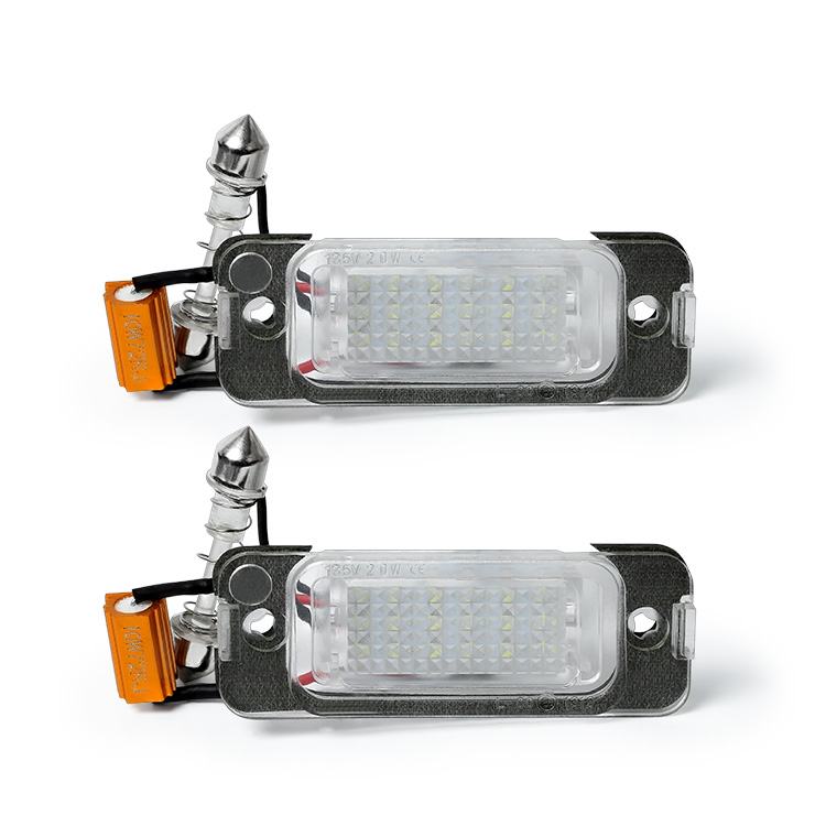 12V LED License Plate Light <strong>for</strong> ML350 W251 <strong>W164</strong> X164 ML400 GL450 GL500 R300 S400 R500