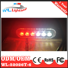 12-24V Vehicle Mini Compact Surface Mount Directional Strobe Lighthead All Emergency Vehicle and Led Flashing Light