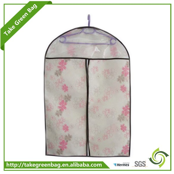 Chinese fashion design clothes dustproof non-woven suit bags