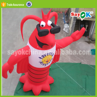 huge inflatable lobster model display decor inflatable lobster costumes