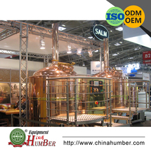 Beautiful commercial copper micro beer brewery equipment for sale