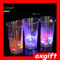 Oxgift led cup Promotional Bar Item LED Glass Led Flashing Cup