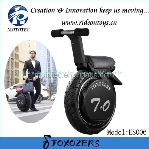 Toxozers 20km/h Max. Speed and Racing Motorcycle Type one wheel electric motorbike