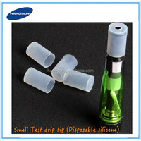 Ecig accessories drip tip cap disposable drip tip cover wide bore silicone mouthpiece
