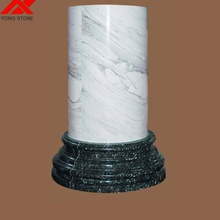 Factory direct hollow marble columns for sale with good quality