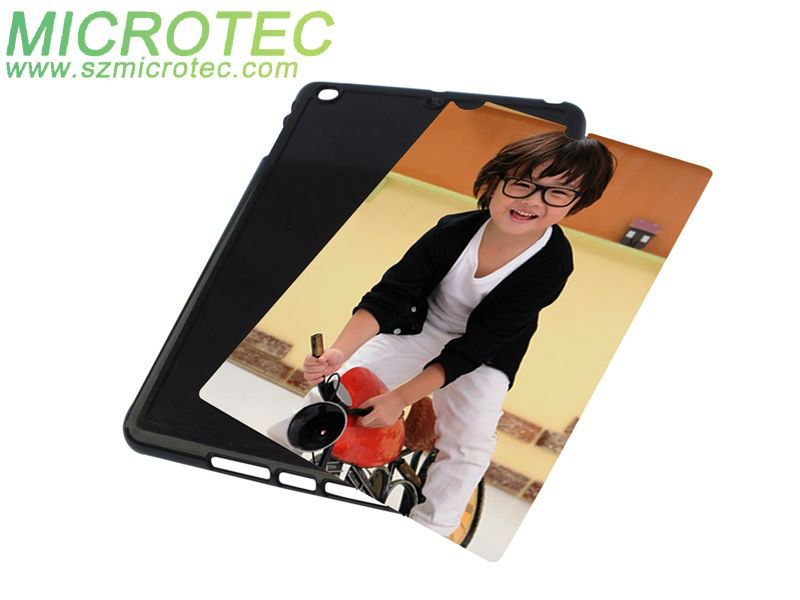 Customized cover for heat transfer, plastic cover for ipad mini