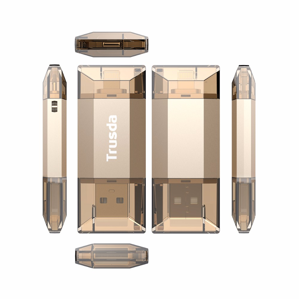 ubs flash drive MFi certified idiskk OEM i flash drive for iPhone7