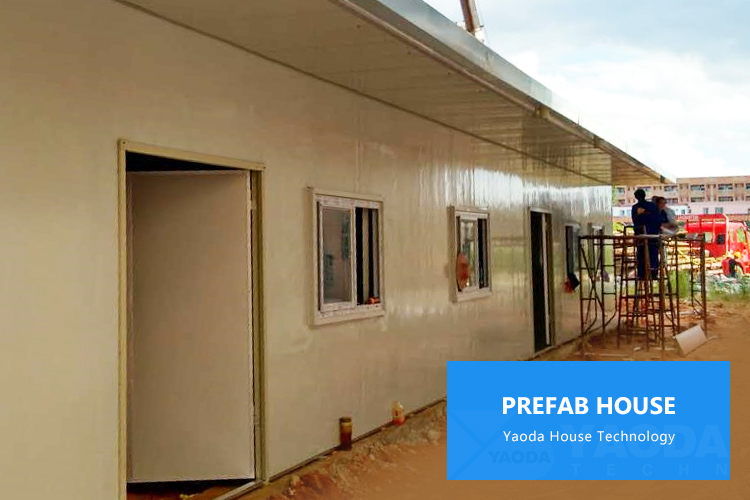 cheap low cost eco friendly china prefabricated multi family modular homes sandwich panel prefabricated house in algeria