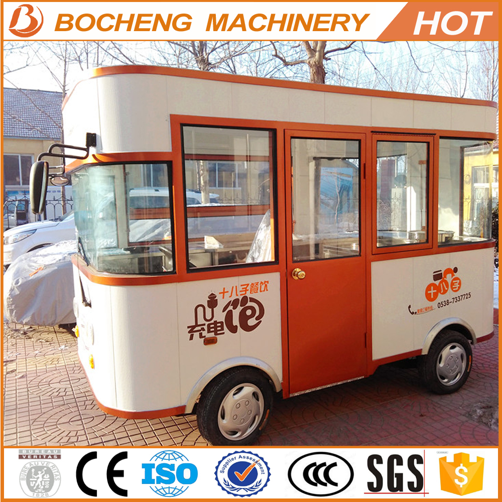 4kw electric food vehicle/kitchen bus !