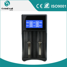 Handiness Digital LCD Display Cylindrical Battery Charger