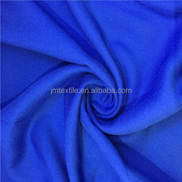 rayon spandex twill solid fabric viscose rayon crepe fabric