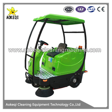 OS-V3 battery powered floor sweeping machine ride on sweeper floor dust mechanical sweeper machine