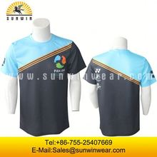 Promotional Cheap Wholesale Custom Cotton Polyester T Shirts Plain White Blank T Shirts In Bulk