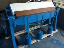 INT'L SLMT Construction manual folding machine,Iron manual sheet bending machine,Manual folding machine for sale