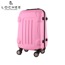 China Factory 24 Pink Hard Case Trolley Urban Custom Luggage With Wheel